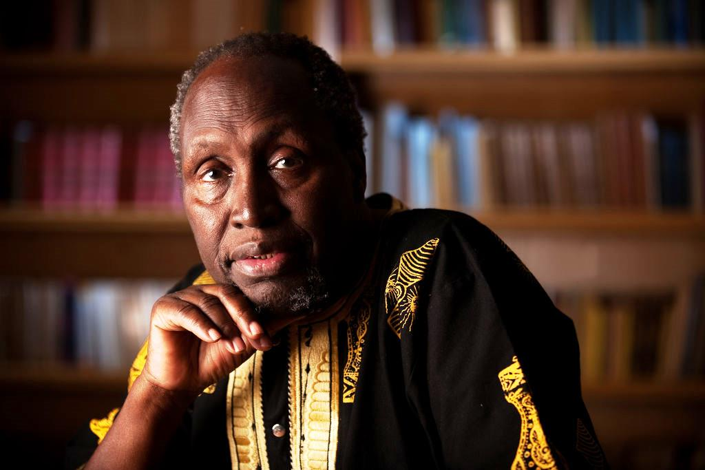 Do escritor negro preso por sugerir libertação da educação burguesa no Quênia
