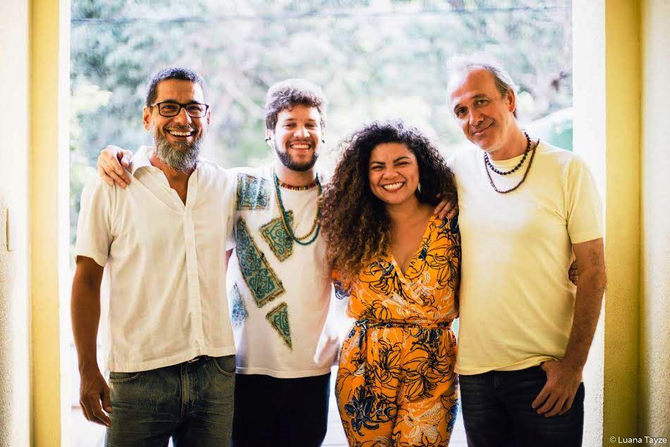 Grupo potiguar Qu4tro lança CD no Centro Histórico paraibano nesta sexta