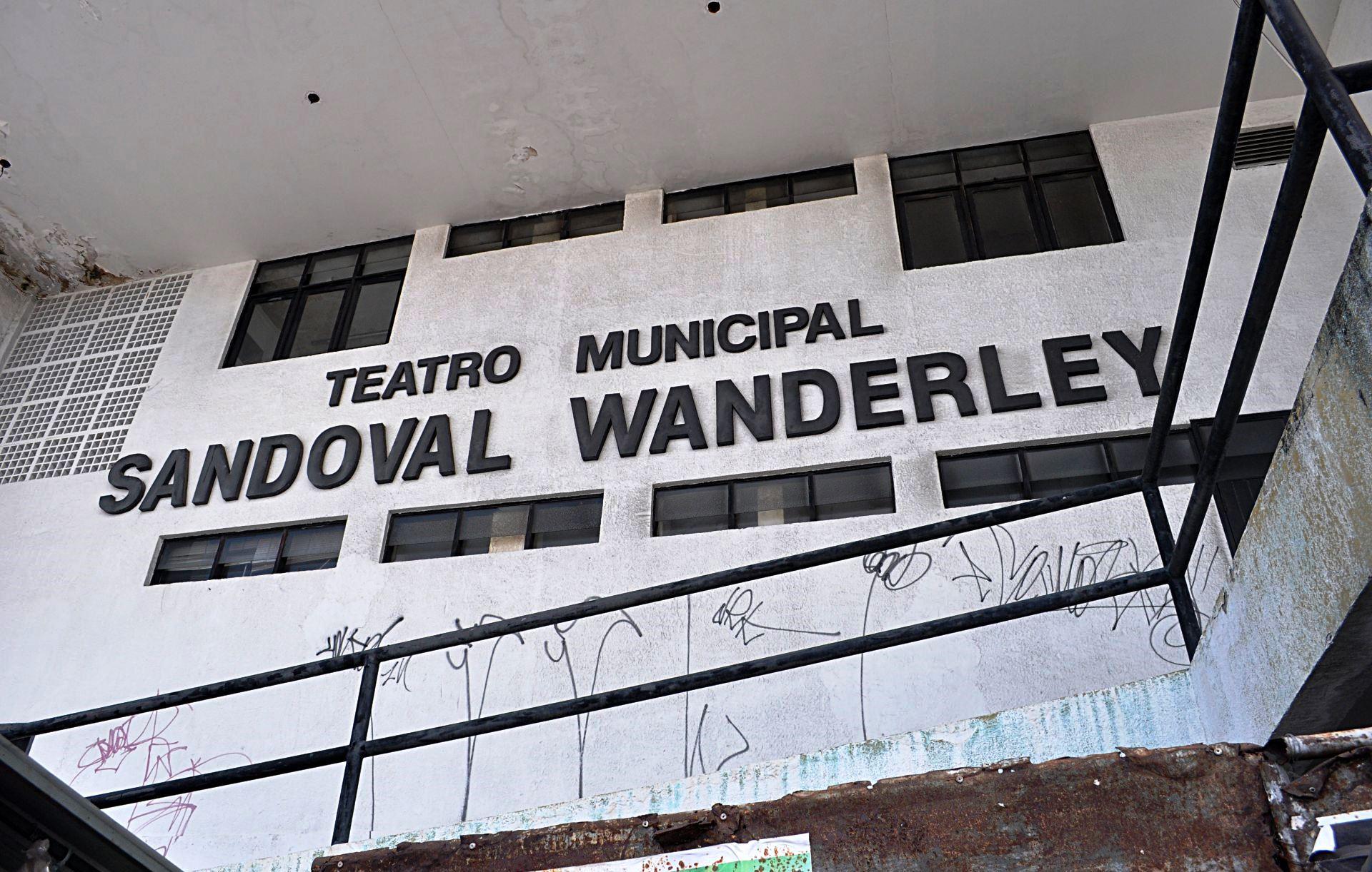 Funcarte esclarece situação do Teatro Sandoval Wanderley
