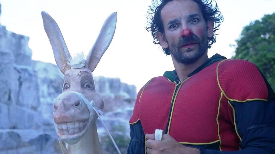 Dom Quixote no circo, no vídeo e para crianças e adultos neste sábado