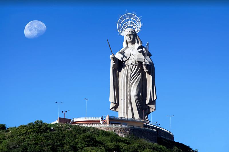 A maior imagem católica do mundo está no Rio Grande do Norte
