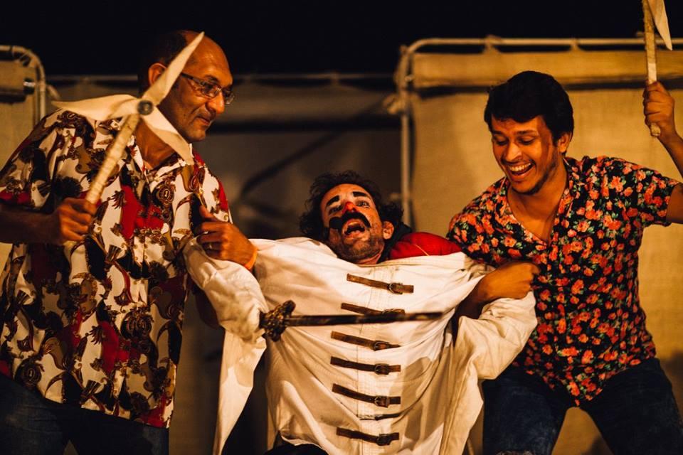Tem Tropa Trupe neste sábado e domingo com o espetáculo Sancho Pança