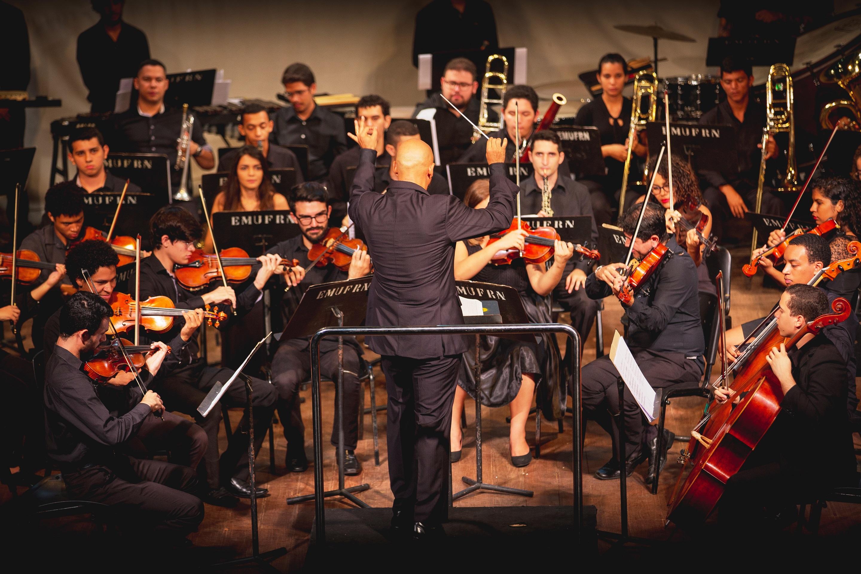 Sinfônica da UFRN faz concerto oficial neste sábado com entrada gratuita