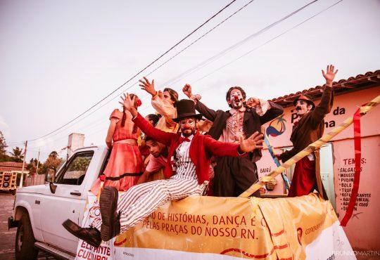 Tem dança, teatro e circo gratuitos neste sábado em Ponta Negra