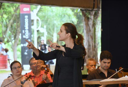 Concerto da Sinfônica da UFRN deste sábado será conduzida por uma mulher