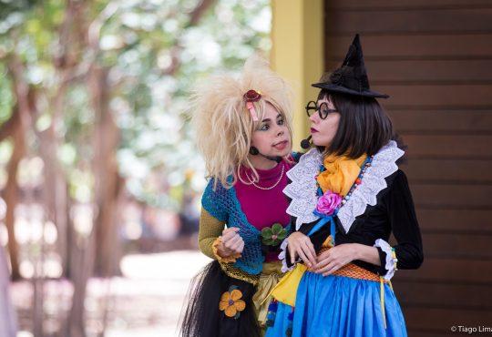 Tem Clowns de Shakespeare no Parque das Dunas neste domingo