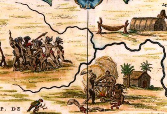 O descobrimento do Brasil foi no RN, mas não foi Cabral. Foi Vespúcio.