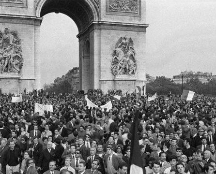 maio de 68 em paris
