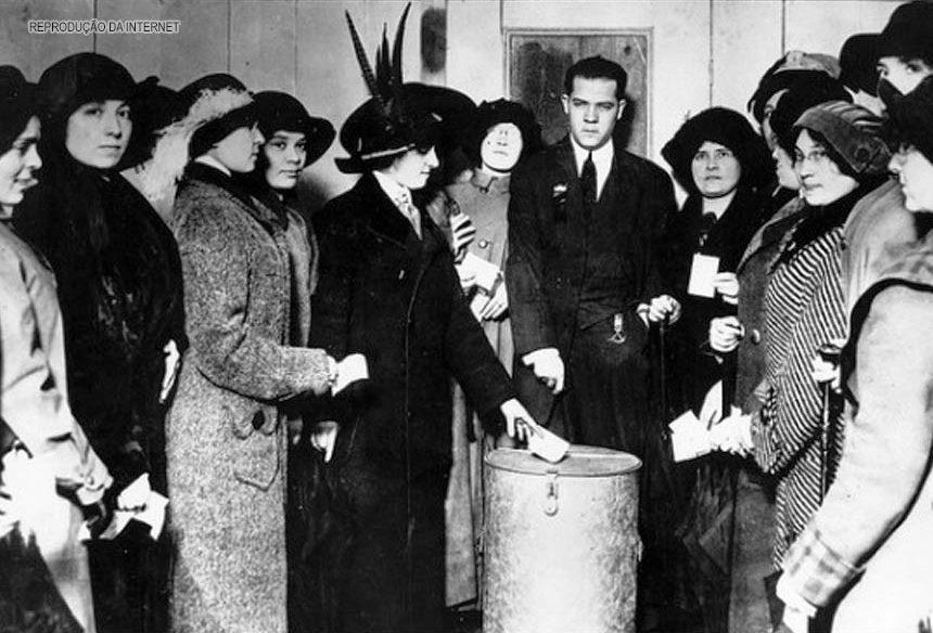 emancipação do voto feminino