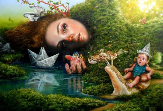 Exposição de arte surrealista aborda, nesta quinta, o humano em si mesmo