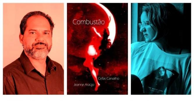 Cefas Carvalho e Jeanne Araujo lançam Combustão
