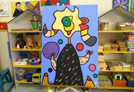 Exposição aberta hoje no IFRN Cidade Alta revela a arte para além da terapia