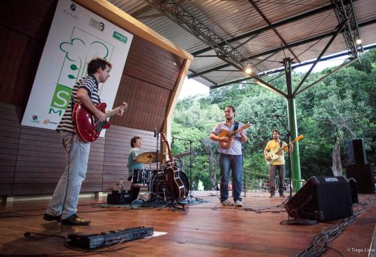 Jazz e rock com Diogo Guanabara e Macaxeira Jazz neste domingo no Som da Mata