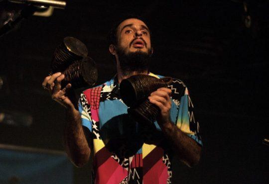 Dos maiores percussionistas de sua geração ministra oficina e traz show para Pium