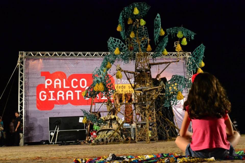 palco giratório