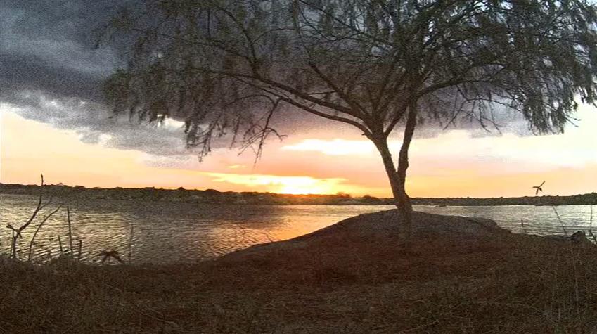 crepúsculo no rio assu