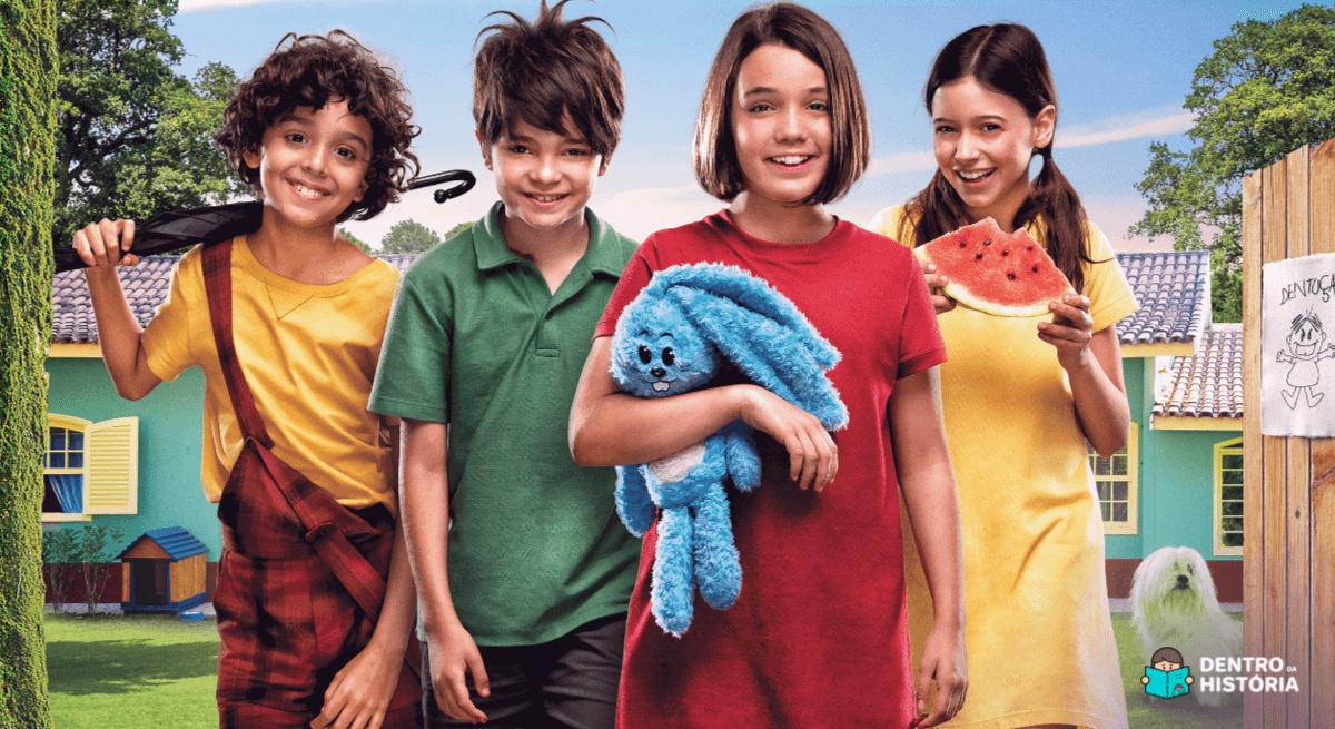 turma da mônica laços - cinema infantil