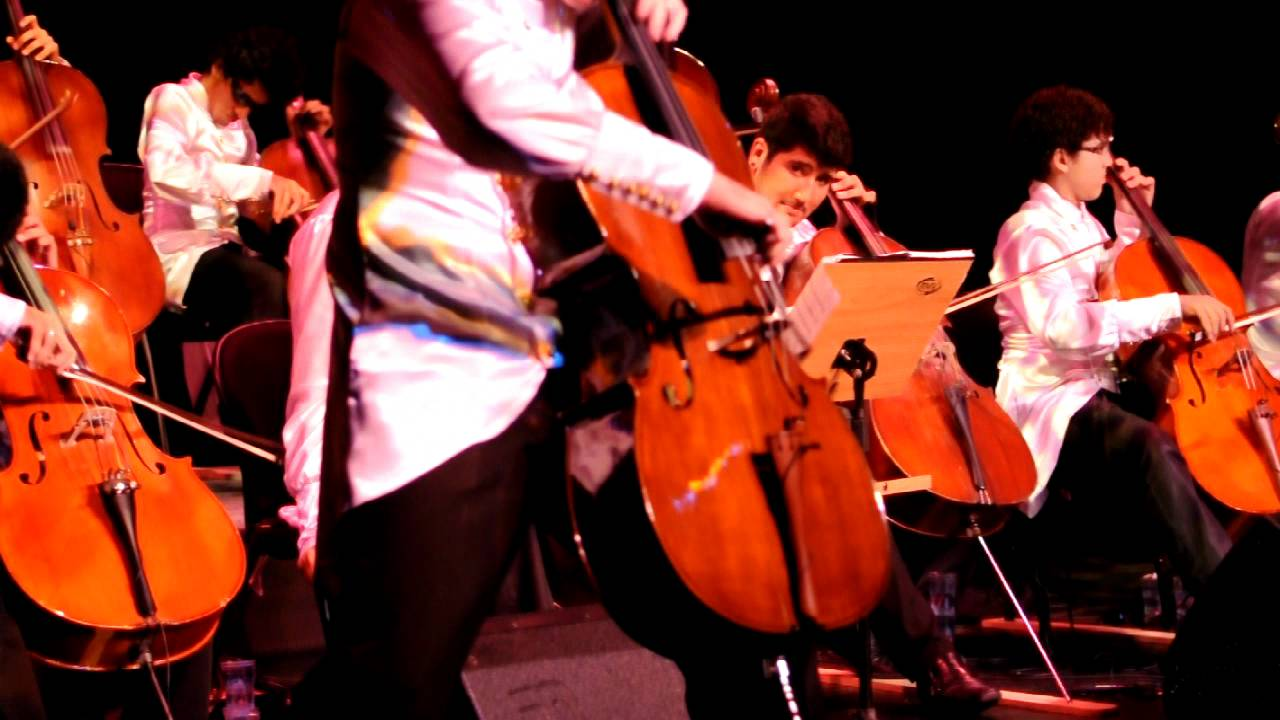 mostra de violoncelos