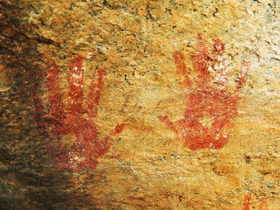 pedra pintada de itajá