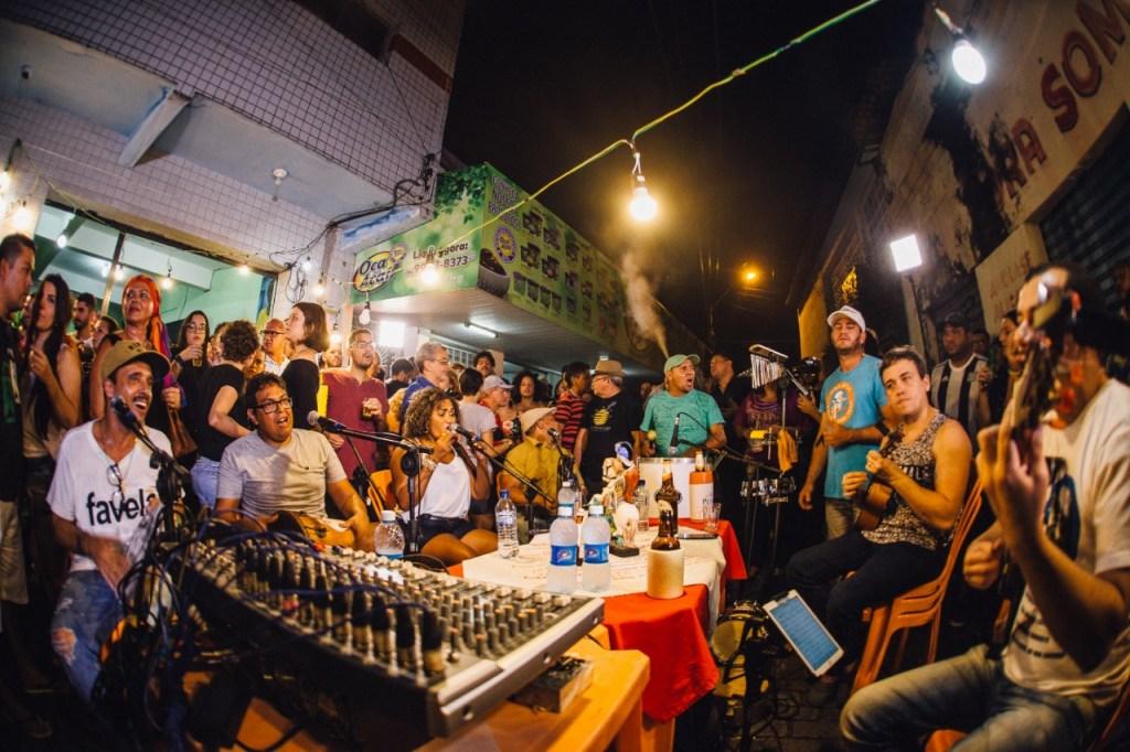 samba no beco