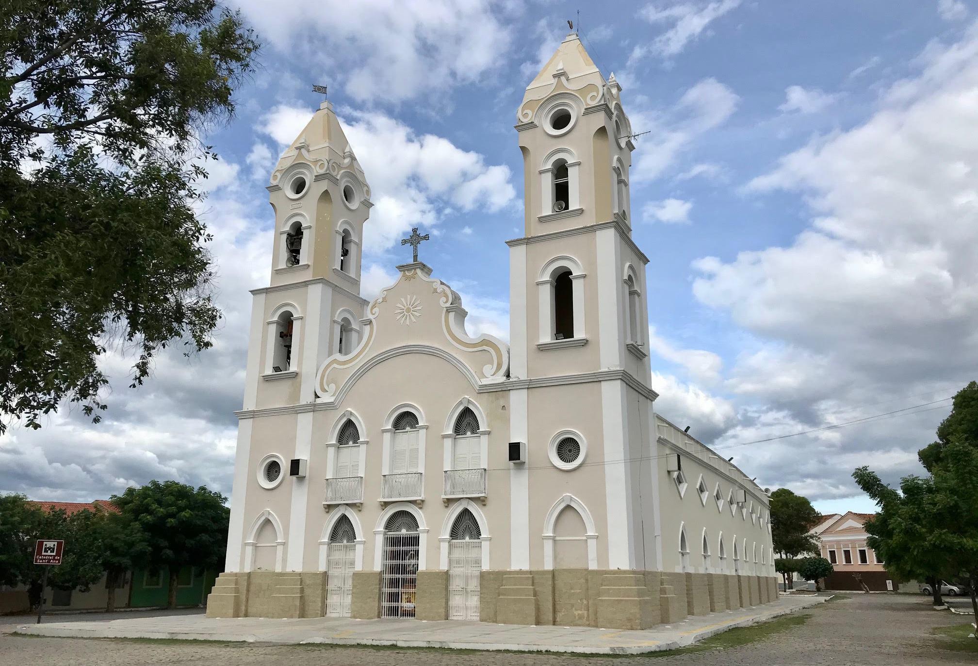 Catedral de SantAna de Caicó - Referência Comunicação
